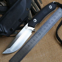 Bolte Lion newest D2 blade G10 handle fixed blade hunting knife KYDEX Sheath tactical camping survival outdoors EDC knives tools
