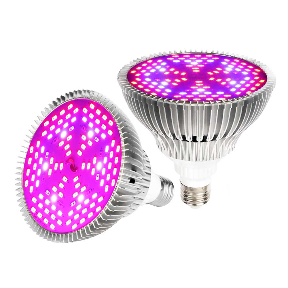 18W 24W 28W 30W 50W 80W Full Spectrum Led Grow Light E27 E14 GU10 UV IR Growing Lamp For Hydroponics Flowers Plants Vegetables