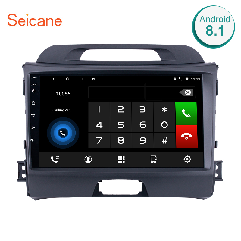 Seicane 2 DIN Android 8 1 7 1 Touchscreen 9 inch Head Unit font b Radio