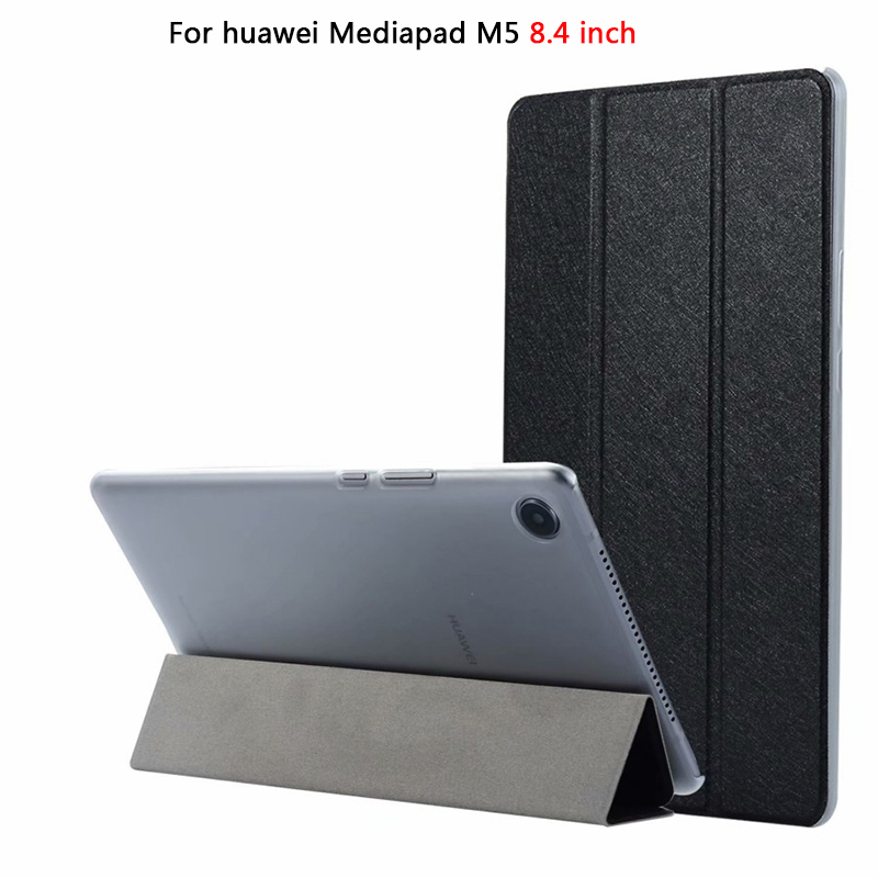 Tablet Case For Huawei MediaPad M5 8.4 inch PU Leather+PC Slim Stand  Flip Cover For Huawei M5 8.4 case SHT-AL09 SHT-W09