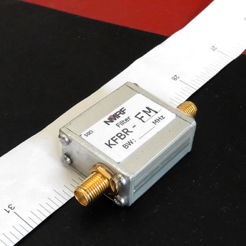 88 ~ 108 MHz faixa de LC-stop filtro de remoção de rádio FM receptor de sinal SMA interfaces