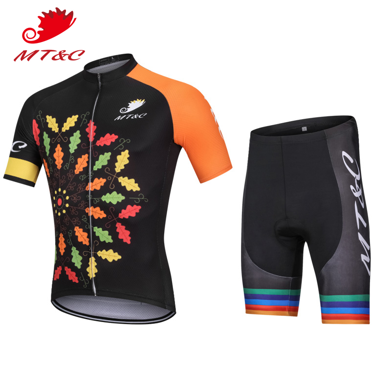 Summer Bicycle 2018 bretelle ciclismo downhill Sets Black Breathable ing Short Sleeve Mens cycling clothing Team Cycling Clothin