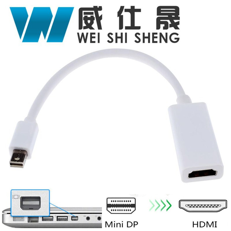 Hot Sale for MacBook Pro Air Mini for iMac Thunderbolt Mini DP to HDMI Cable Mini DisplayPort to HDMI Adapter 1200g dd cup boobs for drag shemale transgender prosthetic breasts cups for dresses silicone fake breast