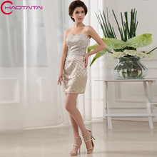 Actual Image Short Bridesmaid Dresses Sweetheart Neck Low Back Wedding Party Maid of Honor Gown