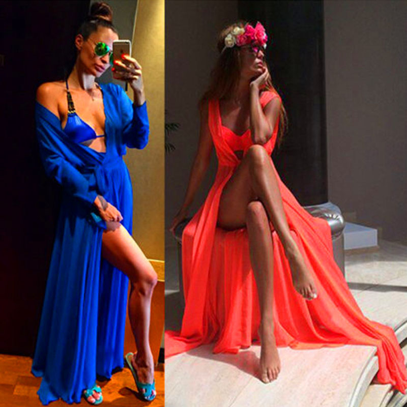 2017 Pareo Beach Cover Up Floral Embroidery Bikini Cover Up Swimwear Women Robe De Plage Beach Cardigan Bathing Suit Cover Ups