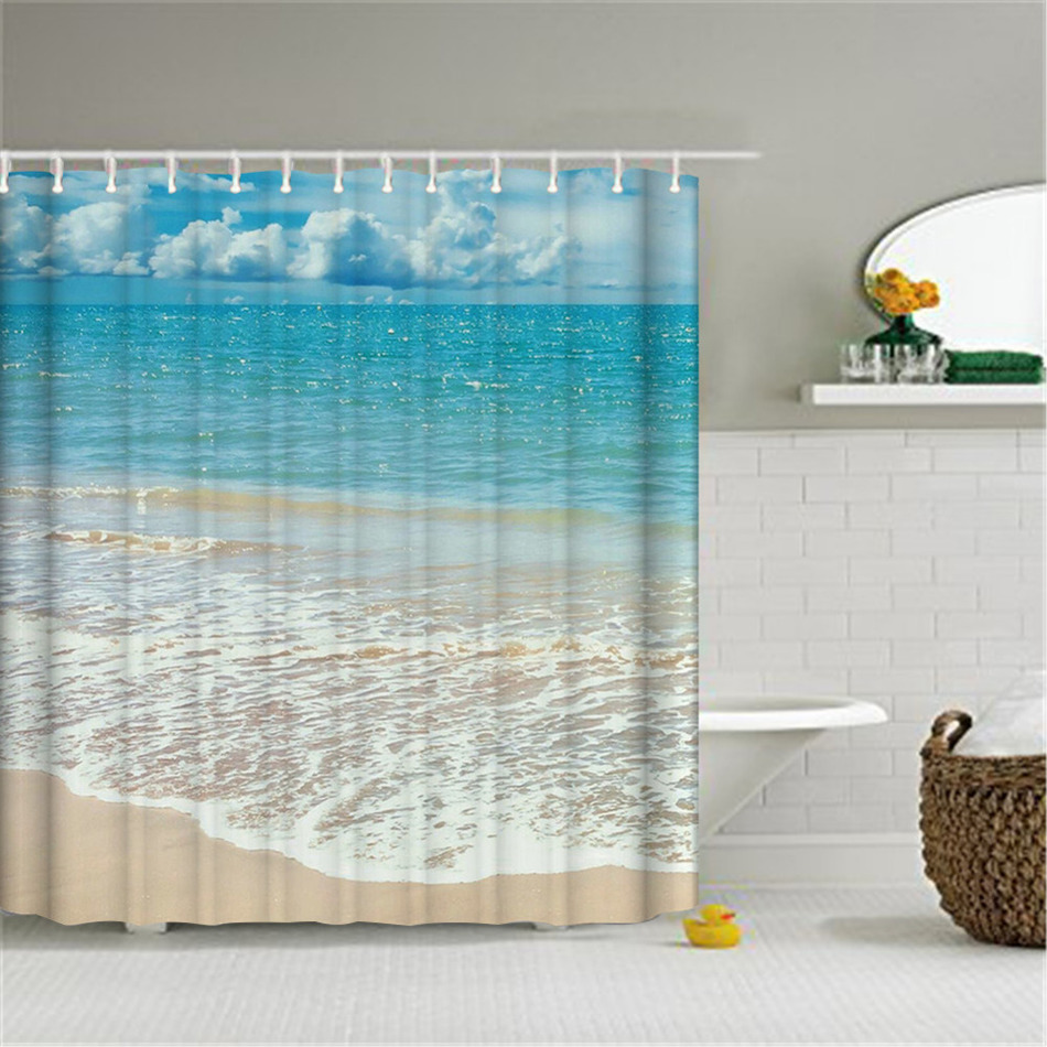 Gray And Teal Shower Curtain Thistle Gray Blue Fabric Shower