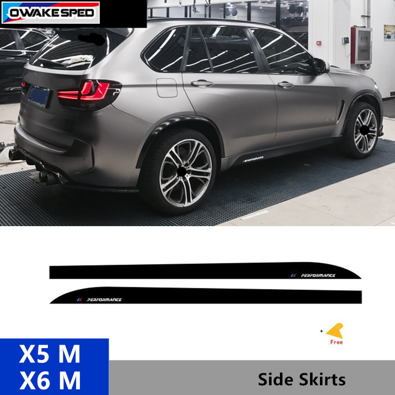 Bmw X6m Horsepower: For BMW X5M X6M F85 F86 ///Performance X2 Door Side Skirts