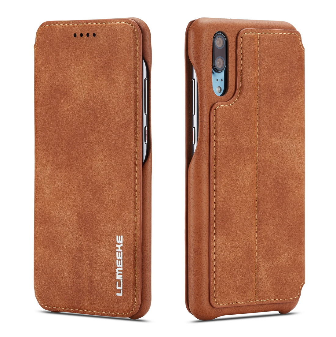 Case for Samsung Galaxy A20 A30 A70 A40 A50 Brand Book cover Logo Quality Case Luxury Thicken Leather Holder Wallet Sewing Coque in Wallet Cases from Cellphones Telecommunications