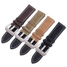 18-24mm Matte Leather Watch Band Men Women Replacement Leather Watch Strap Wristwatch Belt