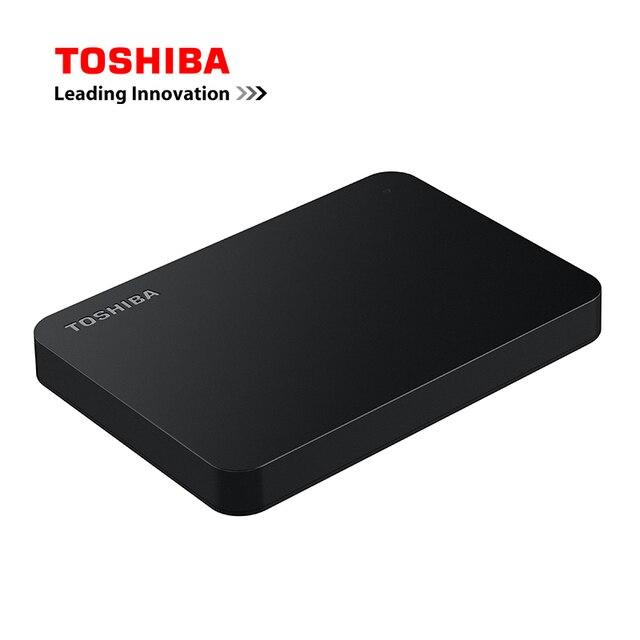 """TOSHIBA Canvio Basics USB 3,0 de 2,5 """"SATA3 2TB 1TB de disco duro externo ABS caso HDD para el ordenador portátil de escritorio"""