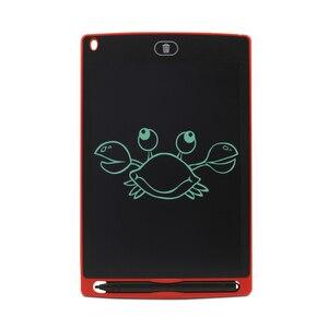 Image 1 - لوحة خربش 8.5 بوصة ، لوحة رسم وكتابة إلكترونية ، مع قلم كتابة ذكي للأطفال هدايا ، مدرسة ، مكتب