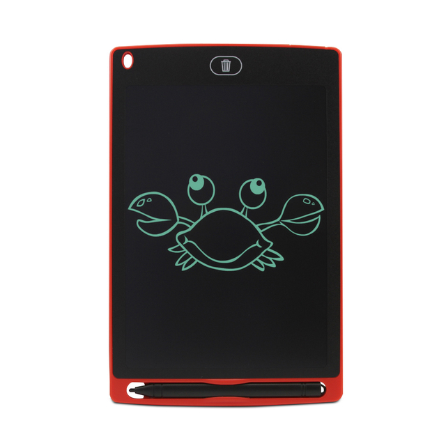 لوحة خربش 8.5 بوصة ، لوحة رسم وكتابة إلكترونية ، مع قلم كتابة ذكي للأطفال هدايا ، مدرسة ، مكتب