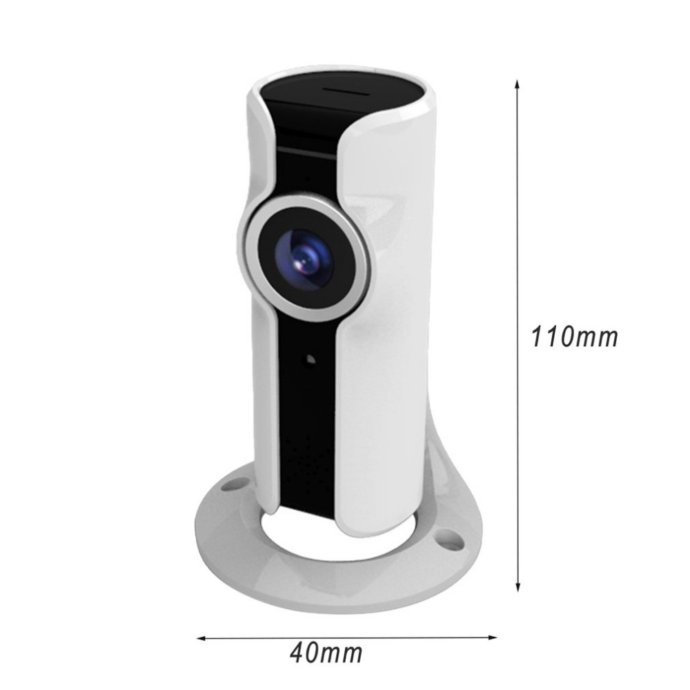 Wireless WIFI Camera HD 720P Night Vision 180 Degree Wide Angle Lens CCTV Outdoor/Home Sports Camera Support Two-way Intercom