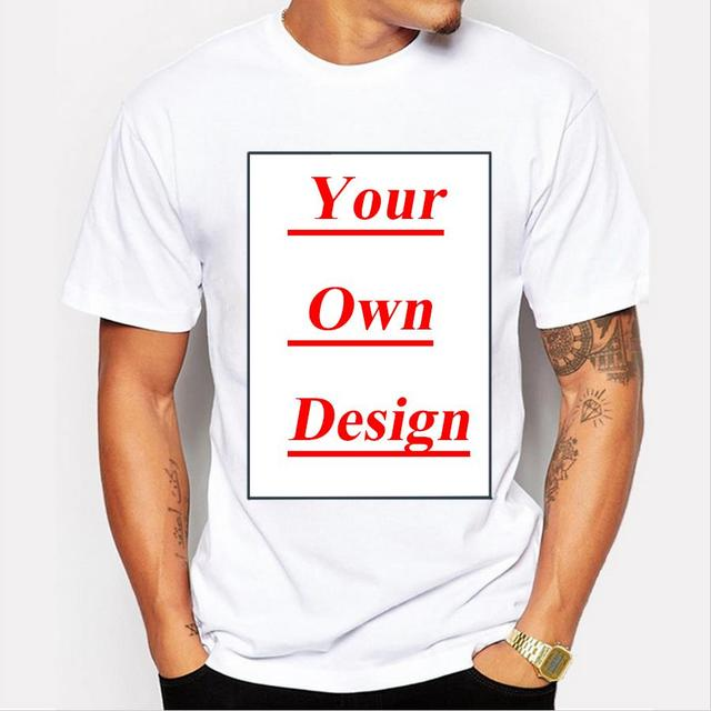 910bf688fa48 Customized Men's T shirt Print Your Own Design High Quality Send Out In 3  Days