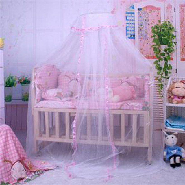 New Baby Bed mosquito net Cute Baby Princess Canopy Crib Netting Dome Bed Mosquito Net for & New Baby Bed mosquito net Cute Baby Princess Canopy Crib Netting ...