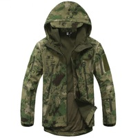Lurker shark skin soft shell v4 outdoors military tactical jacket men waterproof windproof coat hunt camouflage.jpg 200x200
