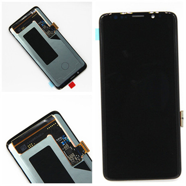 Для SAMSUNG Galaxy S9 ЖК-дисплей G960 Сенсорный экран планшета S9 + плюс ЖК-дисплей G965 дисплей в сборе Оригинал amoled ЖК-дисплей запасные части