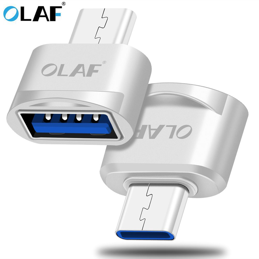 OLAF OTG Type-C / USB Type C OTG Adapter Type-C Converter For Samsung S8 For MacBook Series USB Type C OTG Micro Usb Adapter