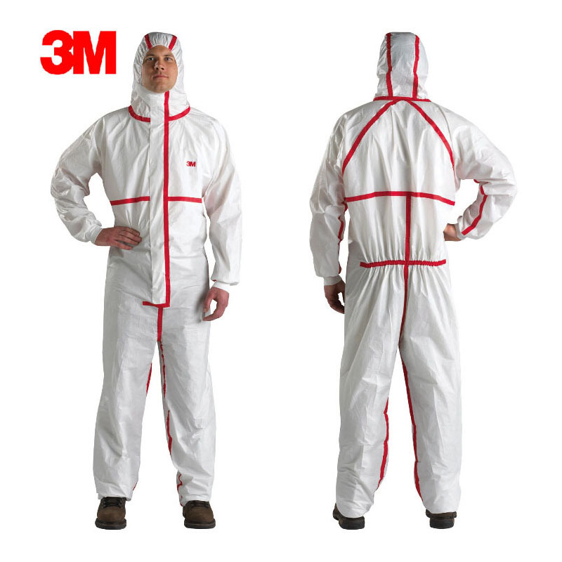 3M 4565 Chemical Disposable Protective Coverall Protective Clothing Protective Suit Against Chemical Splashes LT104