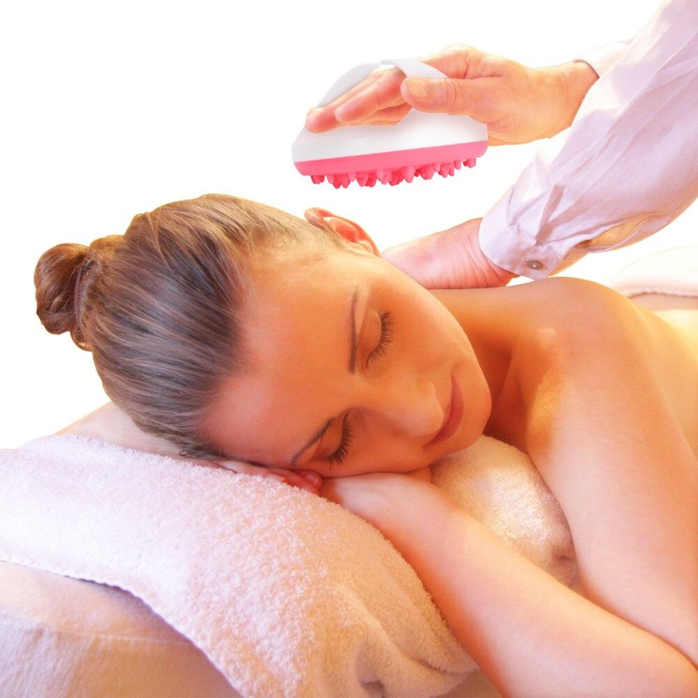 Scrubs & Bodys Treatments New Cellulite Brush Handheld Bath Shower Soft Full Body Massage Brush Glove Slimming Beauty Relaxing Scrub Massage Bath Spa Bath & Shower