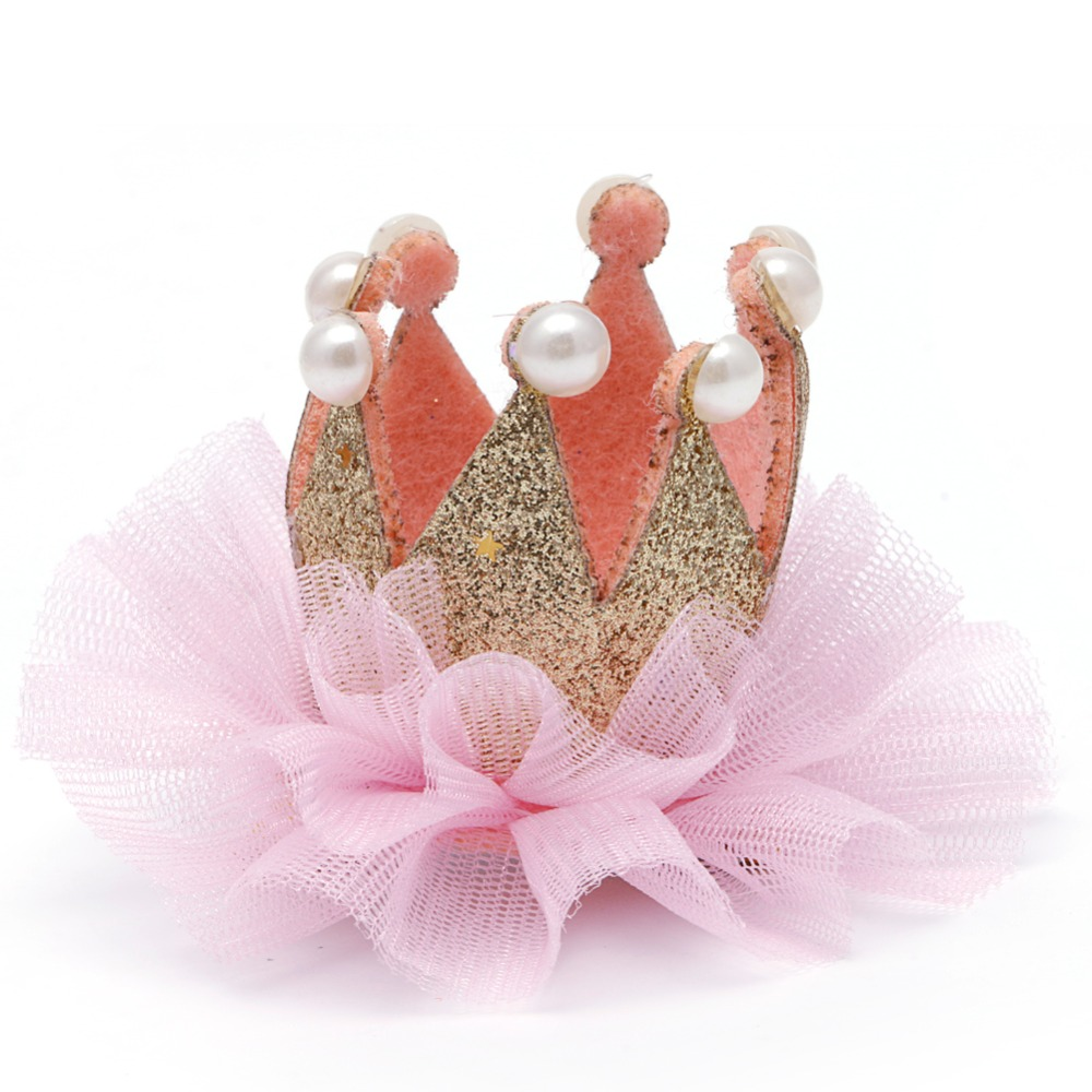 Anak Mahkota Rambut Band Gadis Balita Bayi Lucu Payet Glitter Jepitan Model Ballerina Crown Headband Jepit Mode Di Aksesoris Dari Ibu