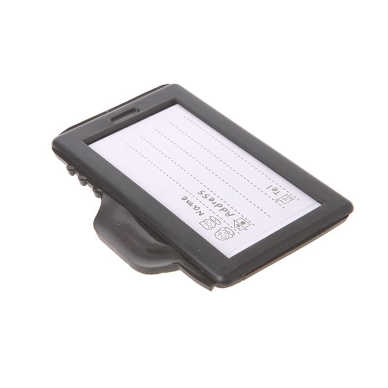 New Camera Shape Suitcase Luggage Tags Name AddressHolder Holiday Identifier Label