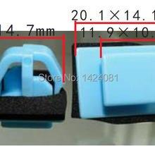 50x OEM боковое литье и зажимы-пистоны для закрепления дверной обивки для hyundai Santa Fe для Kia Sportage 877561F000 87756-1F000