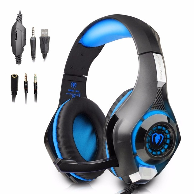 beexcellent casque de jeu casque avec micro pour nouvelle xbox one ps4 pc surround son bruit. Black Bedroom Furniture Sets. Home Design Ideas