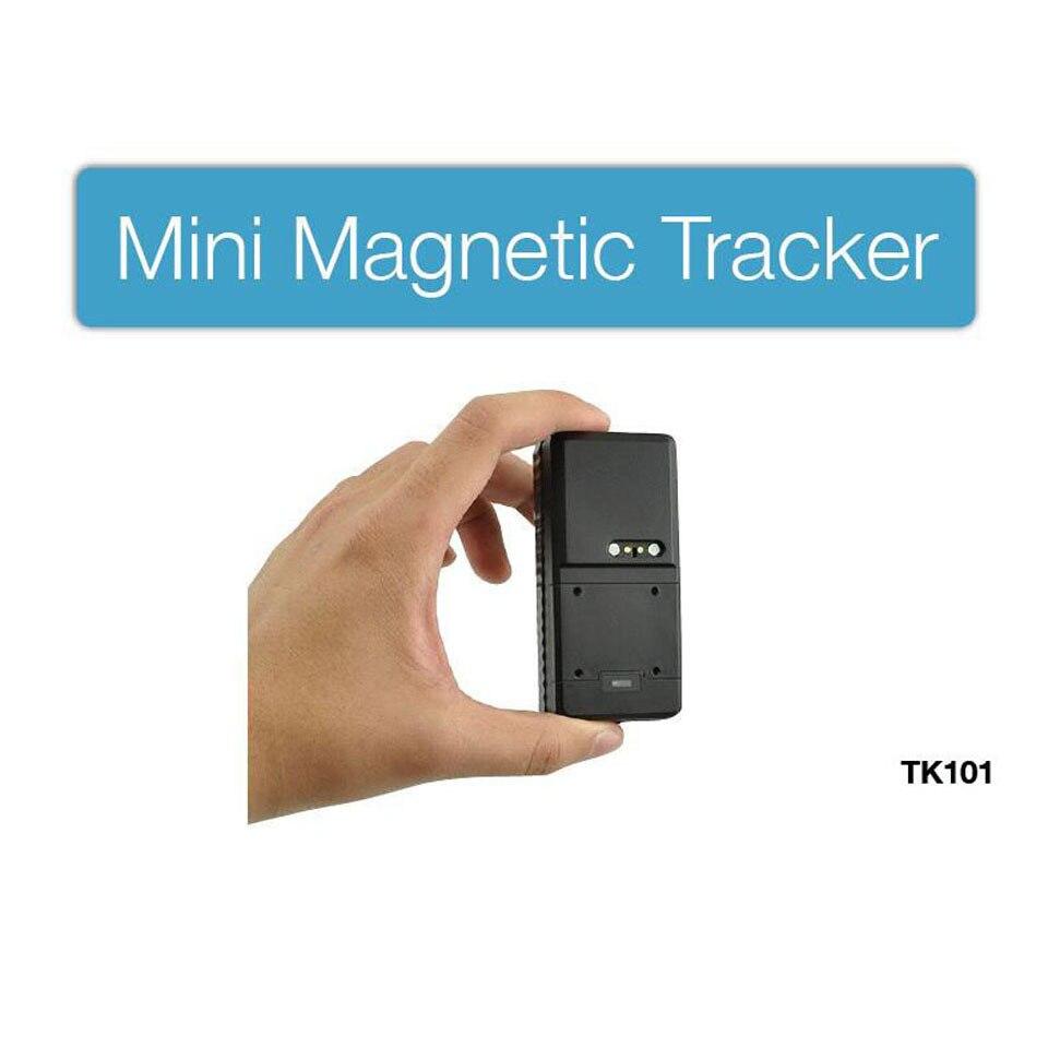 TK101 Mini Waterproof GPS Tracker untuk Car Personal Magnetic 3000mAh - Kereta Elektronik