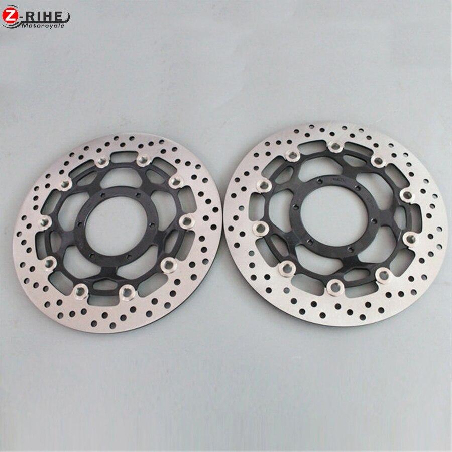 1 пара переднего тормозного диска ротора мотоцикл тормозного Роторы для Honda CBR250RR CBR250 90-99 NSR250R NS250RR NSR250R MC18 MC21 MC28