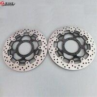 1 Pair Front Brake Disc Rotor Motorcycle Brake Rotors For Honda CBR250 CBR250RR 90 99 NSR250R