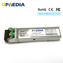 HP Compatible 1000base-zx,1.25G 1550nm 120km SFP transceiver, optical module with DDM and LC connector