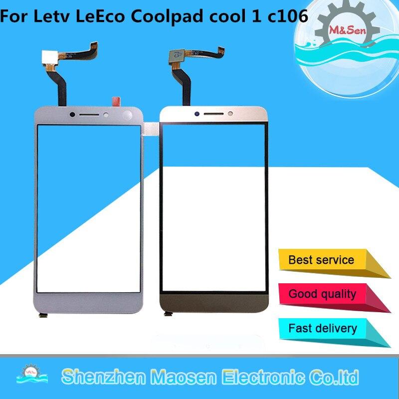 Original M & Sen Für Letv LeEco Coolpad Cool1 Kühlen 1 c106 c107 c103 R116 Touch Panel Digitizer für Letv le LeEco Coolpad Kühlen 1c