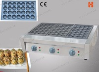 Commercial Use Non stick 110V 220V Electric Japanese Octopus Fish Ball Iron Takoyaki Maker Baker Machine