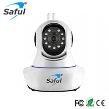 Saful High Quality Wireless IP Camera Night Vision Security wireless Baby Monitor Two-way Audio Smart Surveillance Camera