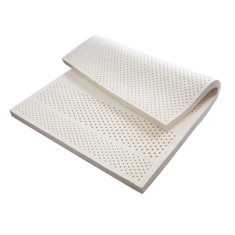 Flat Model Body Massage Latex Mattress 5CM Thickness Cervical Vertebra Neck Protector Single Double Twin Queen Size Mattress