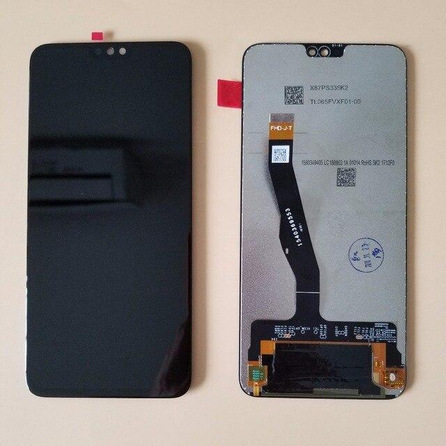 """חדש מקורי 6.5 """"עבור Huawei Honor 8X LCD תצוגת מסך מגע Digitizer עצרת עם מסגרת LCD + כלים"""