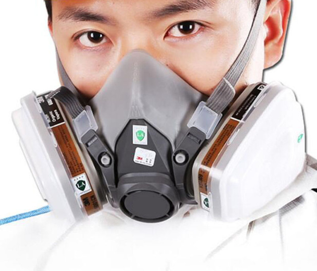 Spray Paint Mask >> Us 13 0 6200 Anti Gas Mask Anti Dust Mask Spray Paint Special Formaldehyde Chemical Pesticide Mine Industrial Dust Mask In Masks From Beauty