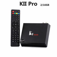 KII Pro Cuadro de TV Android 2 GB + 16 GB DVB-S2 DVB-T2 Kodi S905 preinstalado Amlogic Quad-core Bluetooth Reproductor Multimedia Inteligente