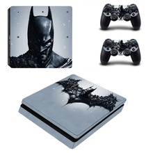 Batman Decal Skin Sticker PS4 Slim Cover for Sony Playstation 4 Slim Console and Controller Skins