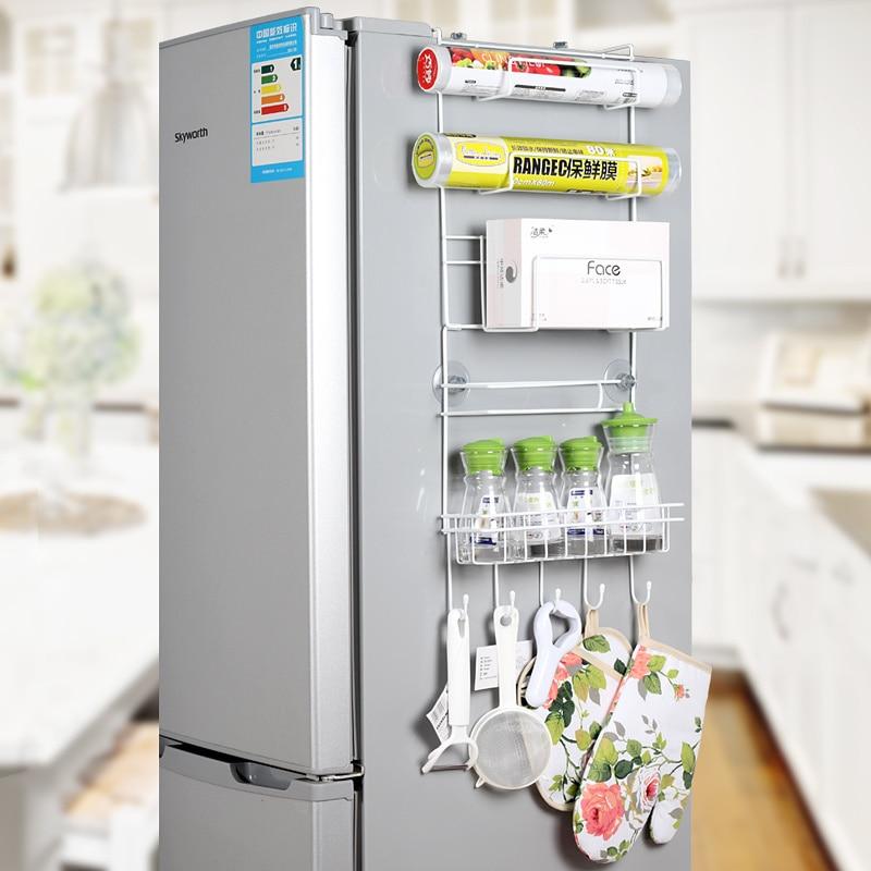 Refrigerador rack 4 unids ventosa gancho estante multifunción - Organización y almacenamiento en la casa - foto 3