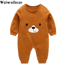 Waiwaibear Baby Girl Clothes Infant Rompers Boys&Girls Long-