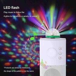Mini LED USB Disco Light Crystal Magic Novelty Ball Portable Stage Home Party Colorful Light Karaoke Decor Party Effect Light