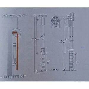 Image 2 - الألومنيوم للطي طوي طاولة قابلة للضبط مكتب منضدي الساق بار قدم RV