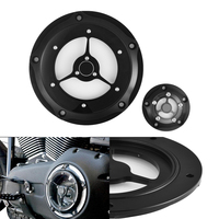 Motorcycle Black Clarity Edge Derby Timing Cover CNC Aluminum Timing Timer Covers for Harley 1999 2014 Twin Cam Touring