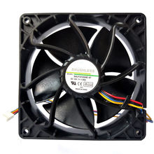 Hiperdeal 6500 Rpm Cooling Fan Penggantian 4-Pin untuk Antminer Bitmain S7 S9 18Oct26(China)