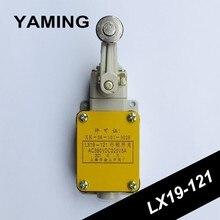 Interruptor de limite LX19 121 único tipo de roda rolamento micro switch 5a ac380v dc220v não/nc ferramenta elétrica mecânica