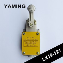 Limit Switch LX19 121 Single Rolling Wheel type Micro Switch 5A AC380V DC220V NO/NC Mechanical Electric Tool