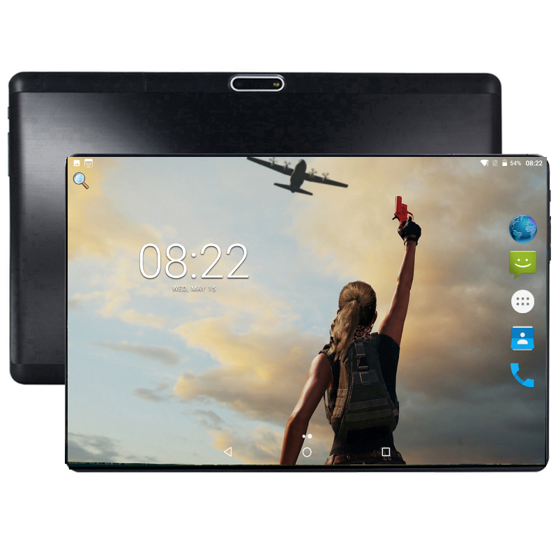 Steel Screen IPS Tablet PC 4G Octa Core Google Play The Kids Tablette Enfant 4GB RAM 64GB ROM WiFi GPS Tablet 10.1 Android 8.0