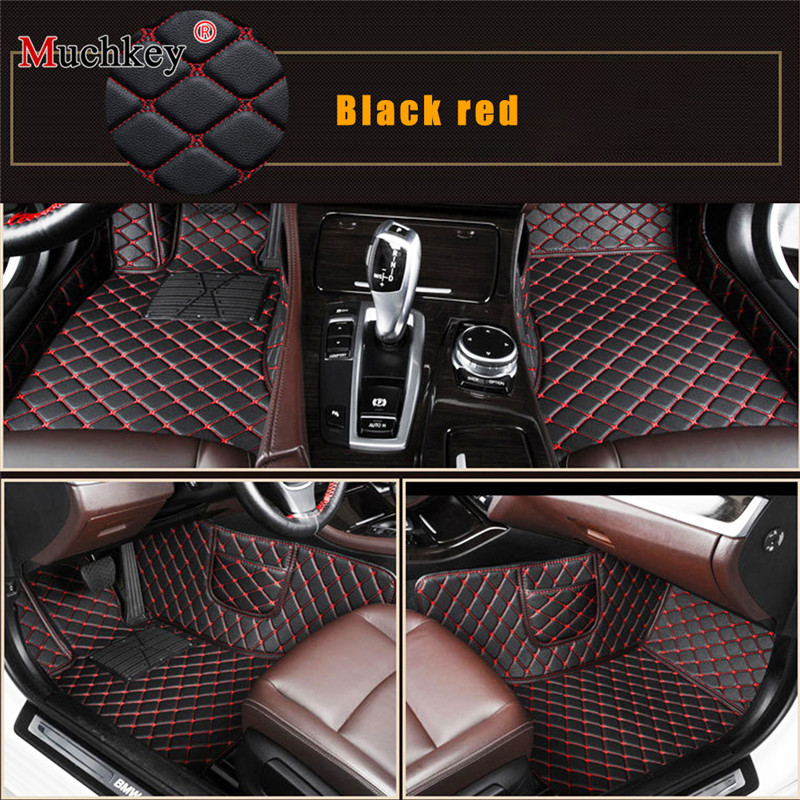 2019 Mercedes Benz Gls Class: Benryhome.com : Black Red Car Floor Mats For Mercedes Benz